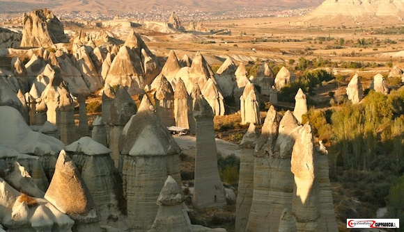 Love valley- must-visit sites in Cappadocia