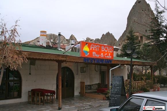 Fat boys restaurant goreme cappadocia restaurants