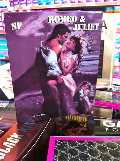 Romeo and juliet cologne