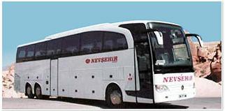 nevsehir bus company - istanbul to cappadocia