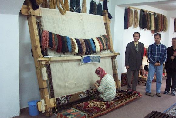 Turkish rug Cappadocia