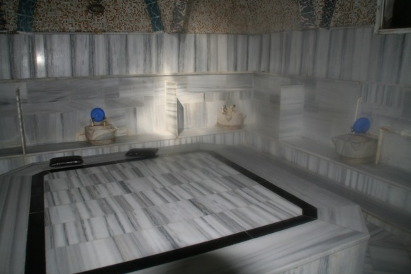 Gulsehir hamam Turkish Bath gobektasi