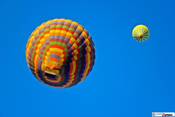 Hot air balloon Cappadocia sky