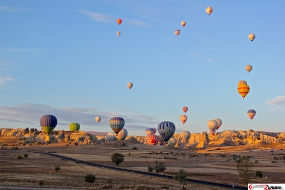 Hot air balloon Love Valley Cappadocia