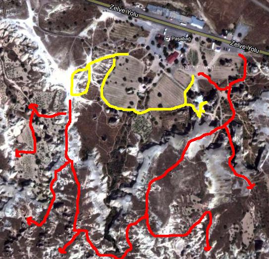 Pasabag Cappadocia Google Map
