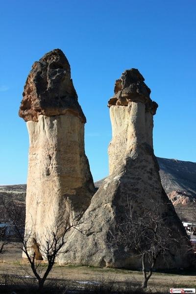 Pasabag Cappadocia fairy chimeny pair
