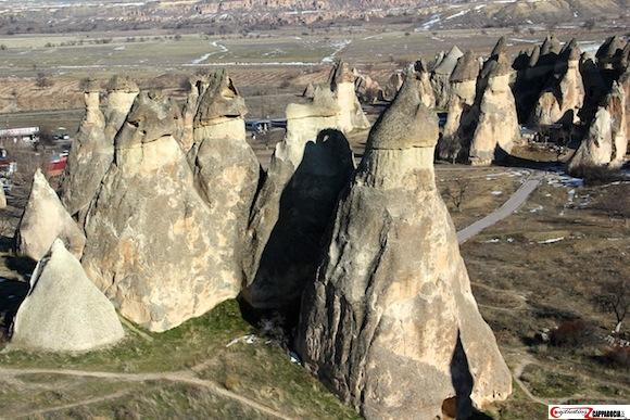 Pasabag Cappadocia fairy chimney cluster