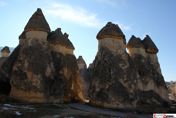 Pasabag Cappadocia fairy chimney soldiers