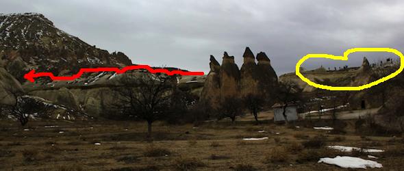 Pasabag Cappadocia hill