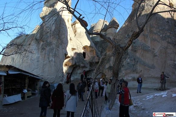 Pasabag Cappadocia tourists