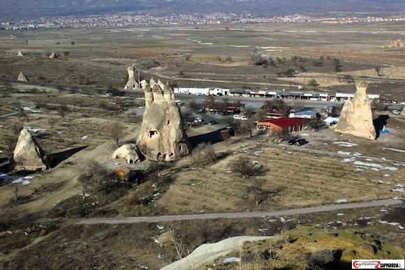 Pasabag Cappadocia valley view