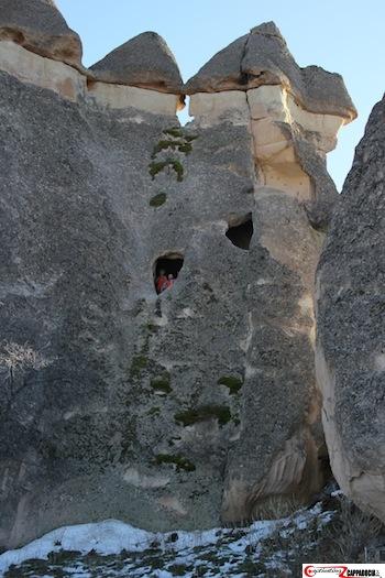 Pasabag Cappadocia window