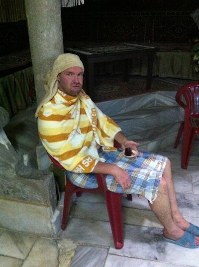 Damat ibrahimpasa hamam turkish bath afterpicture