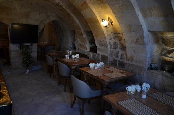 Castle Inn Ortahisar breakfast