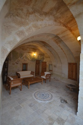 Castle Inn Ortahisar cavedeluxe patio
