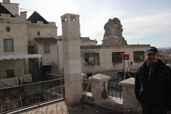 Castle Inn Ortahisar view Suat