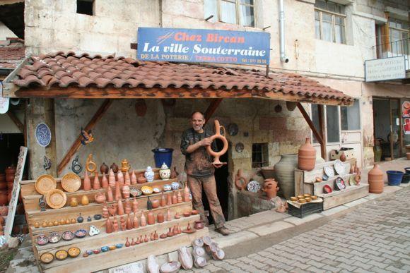 Chez Bircan cappadocia pottery