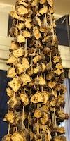 Eggplant frying