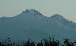 Kayseri mount Erciyes