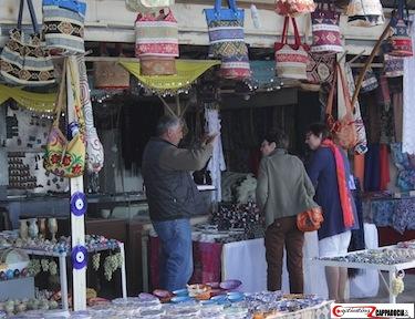 Uchisar camels in cappadocia shops