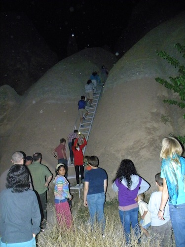 Cappadocia moonlight hike rose valley stairs