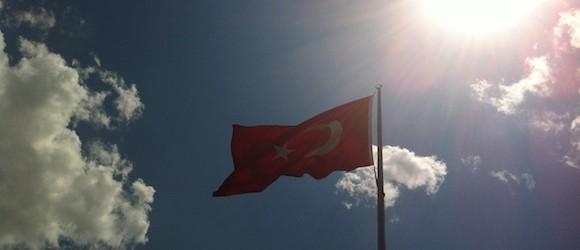 Cappadocia Photo of the Week August 28: Turkish Flag