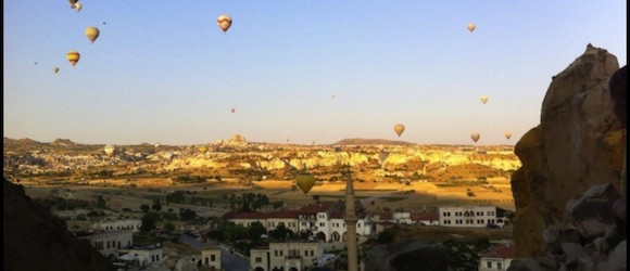Cappadocia Photo of the Week August 20: Cavusin Hot Air Balloons
