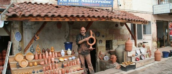 The Cappadocia Hittite Wine Jug at Chez Bircan [VIDEO]