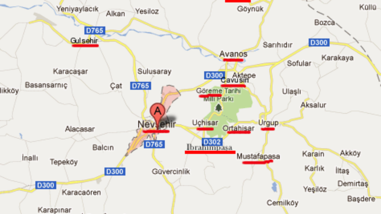 Here's a Quick Guide to 10+ Towns in Cappadocia Turkey on ardahan map, ankara map, dolmabahce palace map, pamukkale map, carpathian mountains map, anatolia map, turkey map, tatev monastery map, kayseri map, lycian sea map, macedonia map, bitlis map, nevsehir pazar map, cilicia map, underground city, mount nemrut, campania map, pontus map, troy map, goreme map, mount ararat, derinkuyu underground city, phthia map, ephesus map,