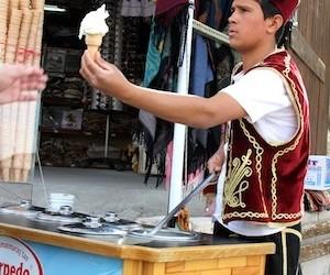 Maraş Ice Cream in Cappadocia Turkey [VIDEO]