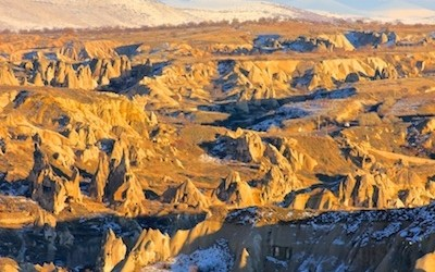 Cappadocia Photo of the Week January 22: Cappadocia's Mount Erciyes