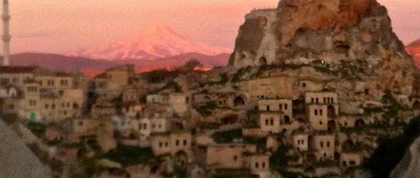 Cappadocia Photo of the Week April 30: Ortahisar & Erciyes