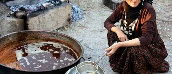 Cappadocia Photo of the Week November 13: Making Pekmez in the Village