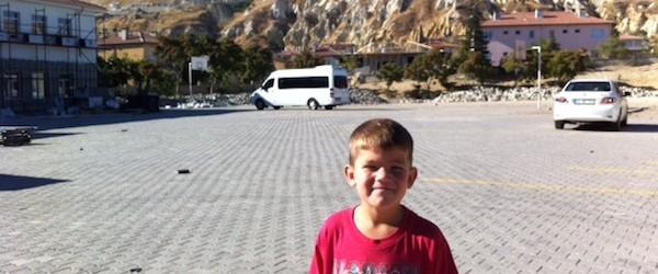 First Day of School in Cappadocia Turkey