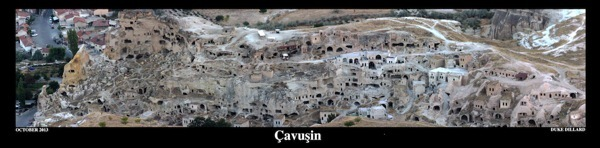 Cappadocia Photo of the Week October 29: Cavusin Old Cave Village