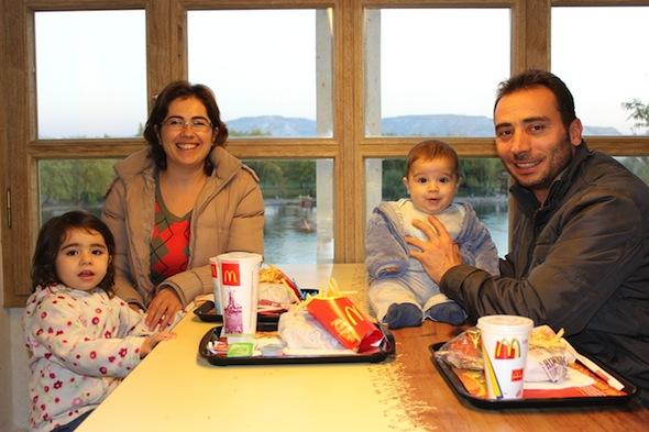 Mcdonalds in cappadocia avanos family