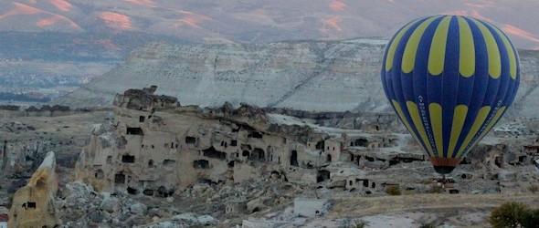Cappadocia Photo of the Week January 23: Cavusin Kapadokya Hot Air Balloons