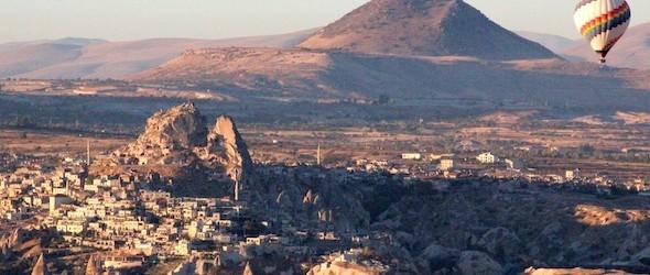 Cappadocia Photo of the Week December 24: Is that Santa's Sleigh?
