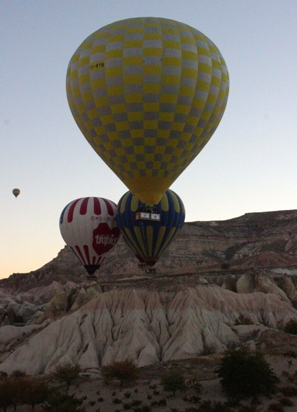 My Cappadocia Hot Air Balloon Ride with Turkiye Balloons