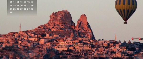 Cappadocia Desktop Wallpaper August 2014