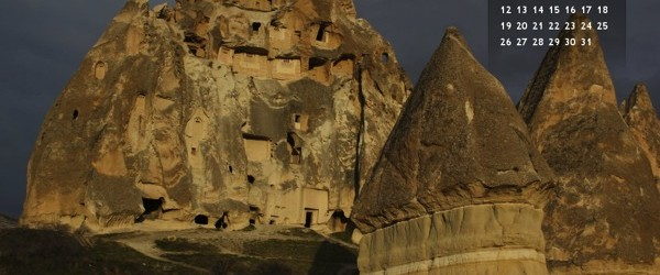 Cappadocia Desktop Wallpaper October 2014