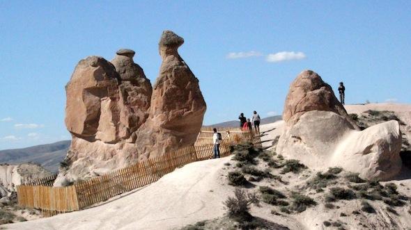 Cappadocia Red Tour devrent camel rock