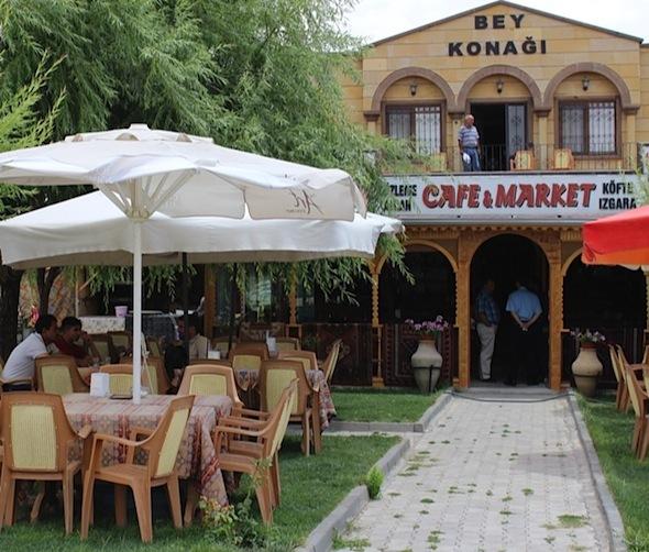 Bey Konagi Cafe Derinkuyu Cappadocia entrance