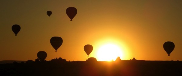 Cappadocia Photo of the Week October 9: Hot Air Balloon Silhouettes