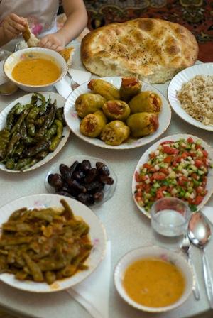 Cappadocia travel Iftar meal Ramadan