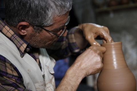 Cappadocia travel pottery