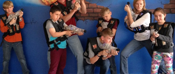 How About a Game of Lazer Tag in Kayseri, Cappadocia?