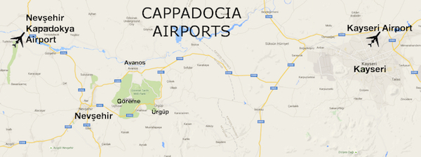 Cappadocia Airport: Which One Should You Fly Into?