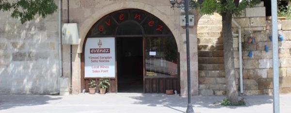 Evenez Boutique Winery in Avanos, Cappadocia