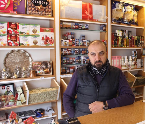 Cappadocia kuruyemis dried fruits nuts owner